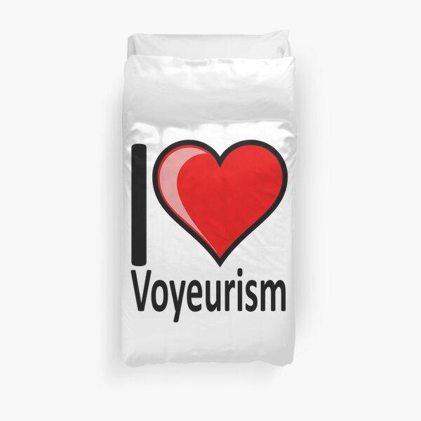 Voyeurism Duvet Covers Redbubble