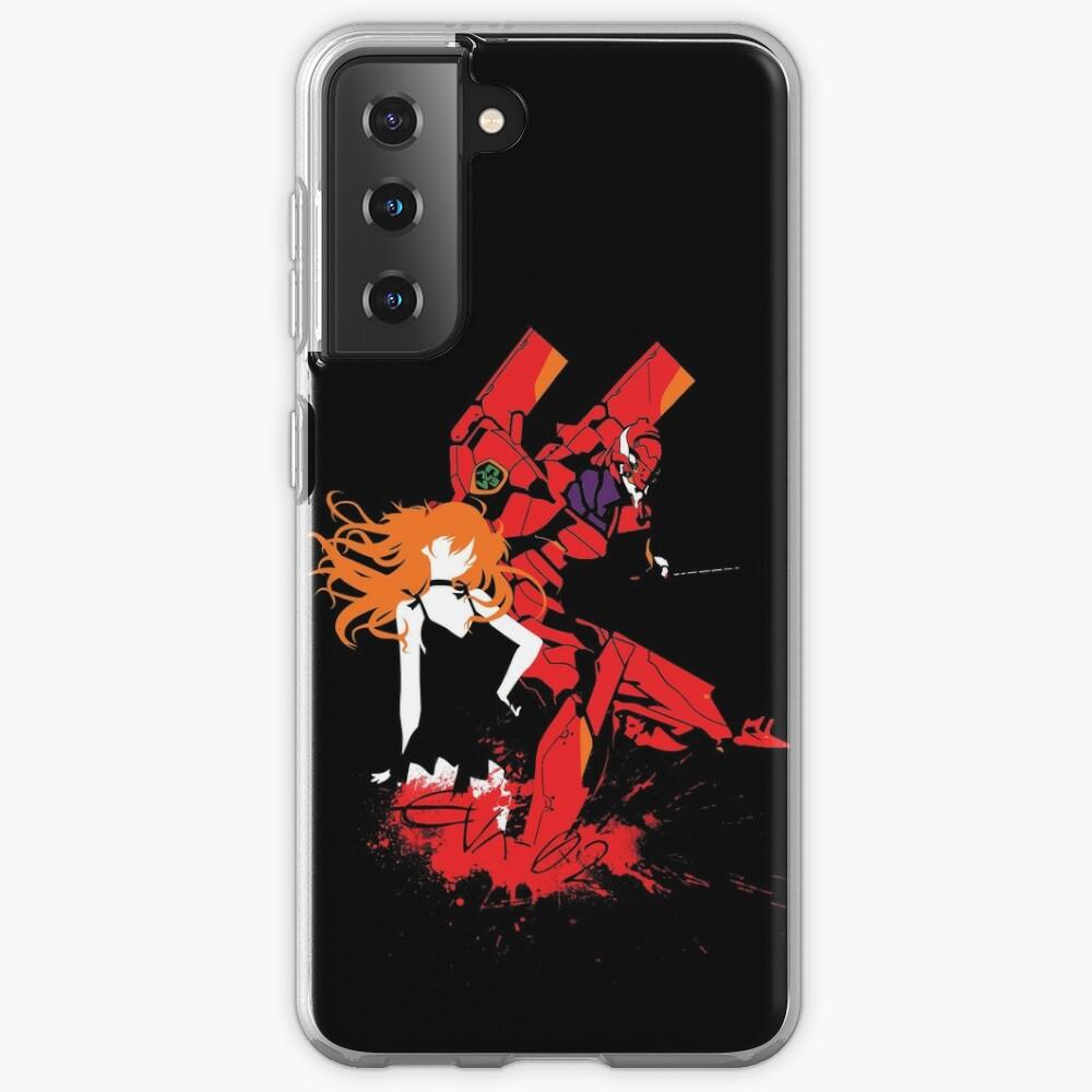 Evangelion Unit-02 Case & Skin for Samsung Galaxy