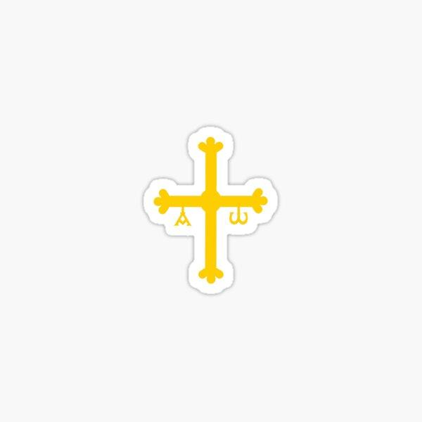 Asturias flag symbol Sticker