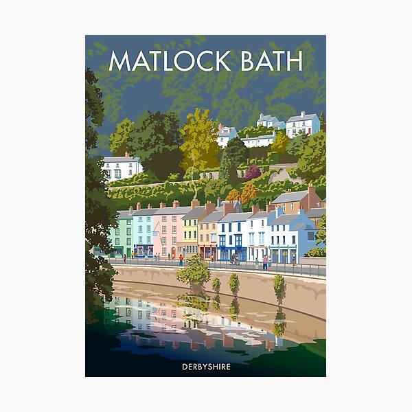 Matlock Bath Derbyshire Photographic Print