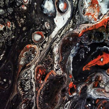 "Abstract Acrylic Art ""Liquid Death #3"" by AHobbyAJob"