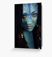 Neytiri Greeting Card