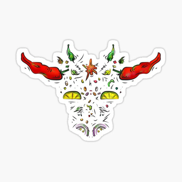 Mexican beef Sticker