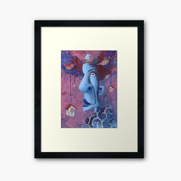 Madame Coo Coo Framed Art Print