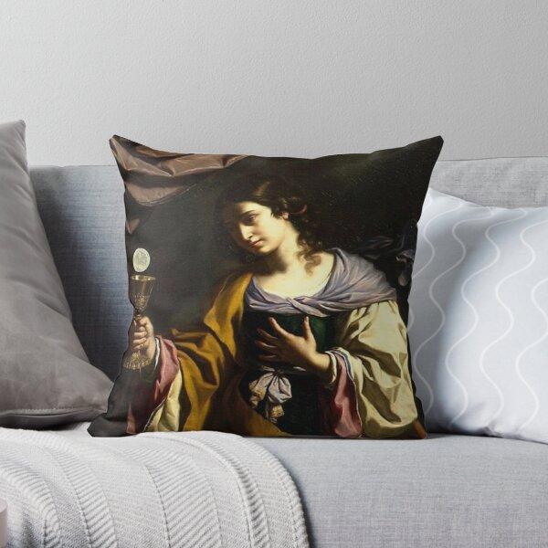 #Painting #Portrait #Art #VisualArts #people adult religion color image copy space women Throw Pillow