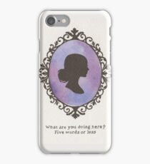 Buffy Cameo iPhone Case/Skin