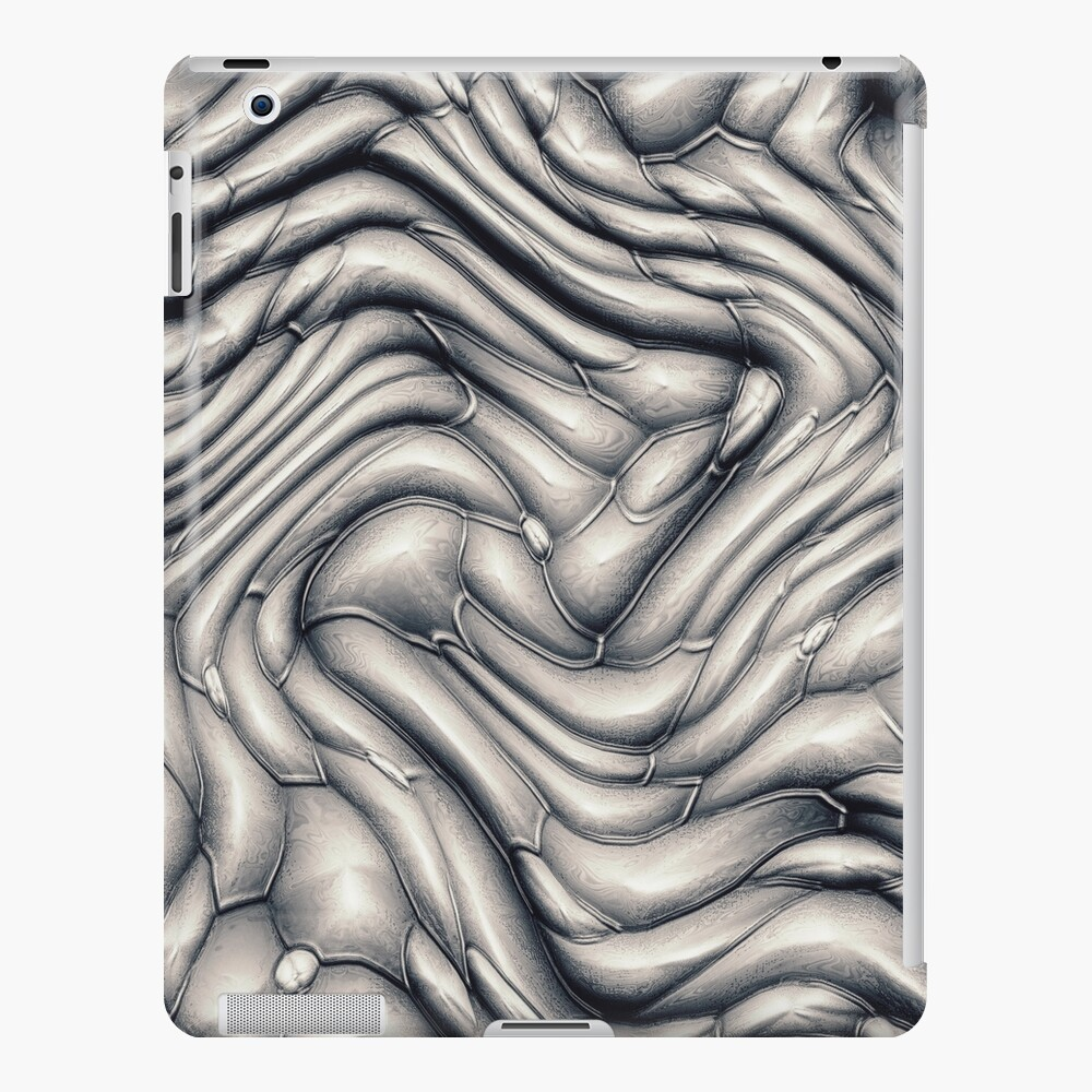Abstract Macro Scales iPad Case & Skin