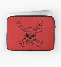 Pirate skull Laptop Sleeve
