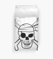 Pirate skull Duvet Cover