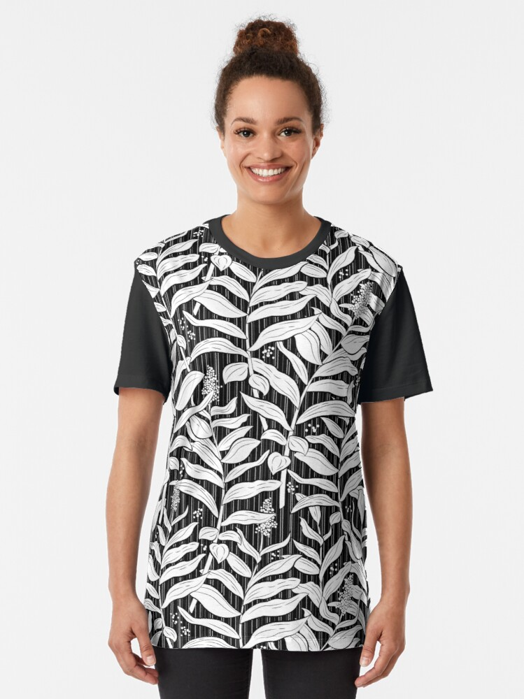 Alternate view of Coastal Fern Graphic T-Shirt