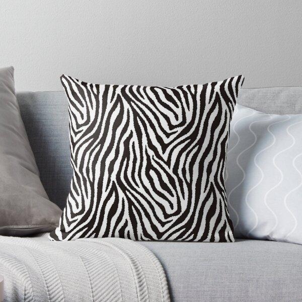 Zebra-Muster Dekokissen