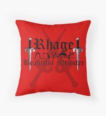 Rhage - [ the Black Dagger Brotherhood ] Throw Pillow