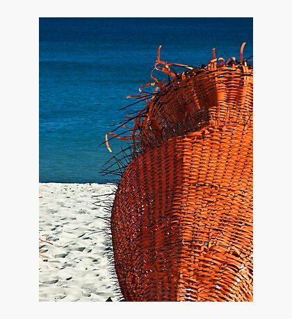 ORANGE - Cottesloe Beach, Perth, Western Australia Photographic Print