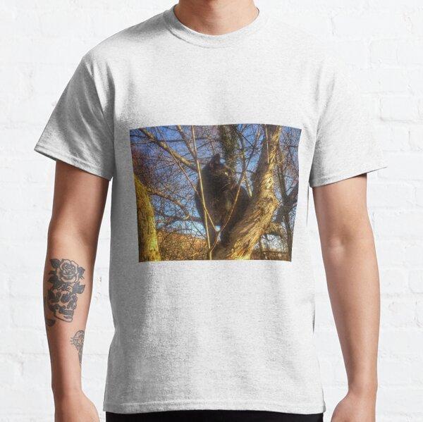Katze Morle auf dem Flieder Classic T-Shirt