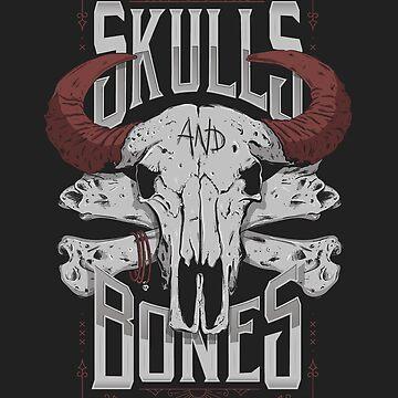 SKULLS AND BONES V2 by snevi
