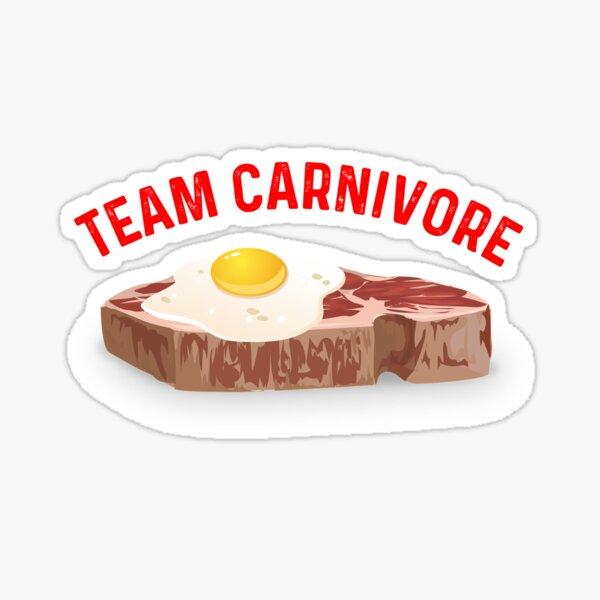 Carnivore Diet T Shirt  Sticker