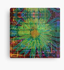 Electric Daisy Land Metal Print