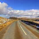 The View from the Kettlewell Road. by Trevor Kersley