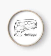 World Heritage Bus Uhr