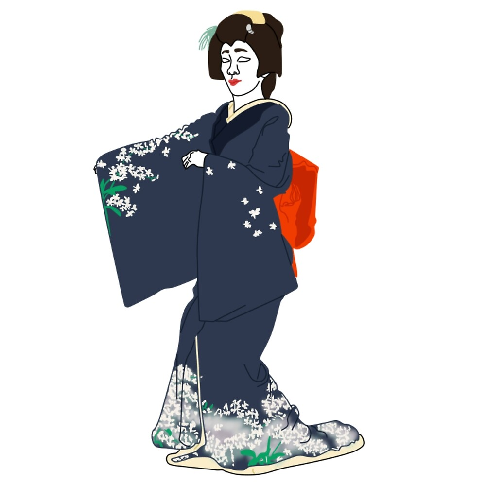 Na-No-Hana Kimono Motif by KHRArts