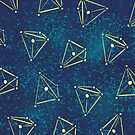 Tetrahedral Molecular Geometry Constellations by Boriana Giormova