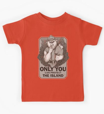 Smoke The Lost Bear Kids Clothes