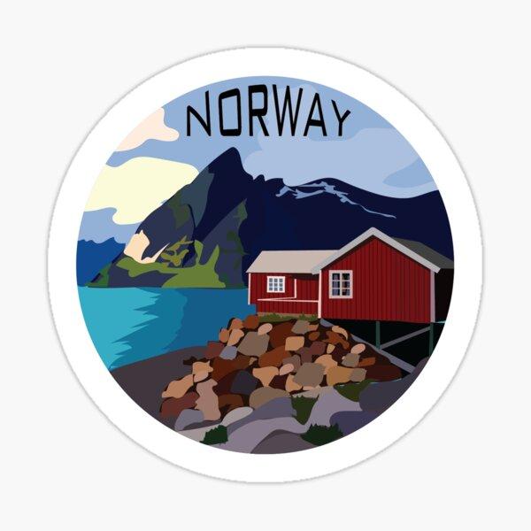 Norway Sticker Sticker