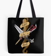 Fight Like A Girl Tote Bag