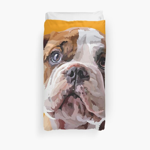 A mens best friend Duvet Cover