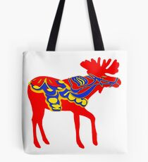 Grafischer Dala Bull Elch, Single Tote Bag