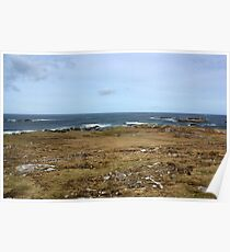 Rugged Donegal Coastline Poster