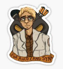 FOR AULD LANG SYNE Sticker