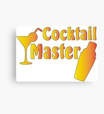 Cocktail master Canvas Print