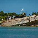 Beached Boats, Antigua by Gerda Grice