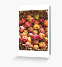 Apple Basket 1 Greeting Card
