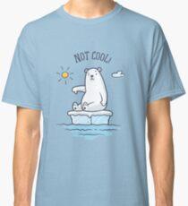 Polar Bear - Le réchauffement climatique n'est pas cool! T-shirt classique