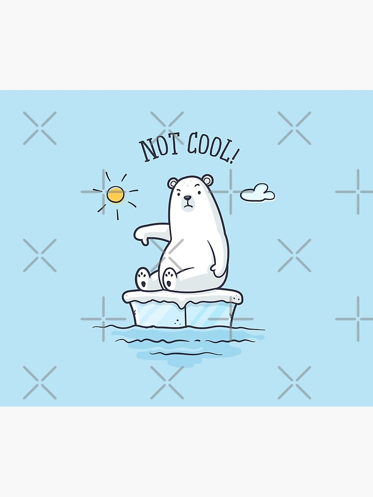 Polar Bear - Global Warming is not Cool! by zoljo