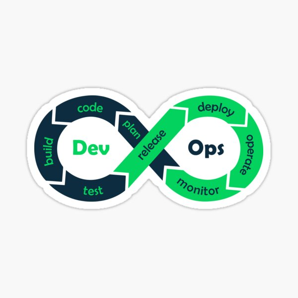 Devops - Process Sticker Sticker