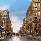 City - Kansas City MO - Commerce from the past 1906 by Michael Savad