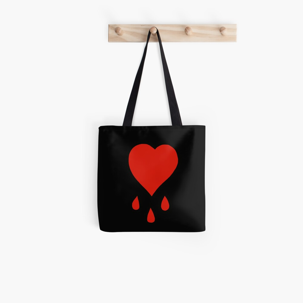 Pirate's Bloody Heart Tote Bag