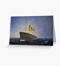 RMS Titanic  Greeting Card
