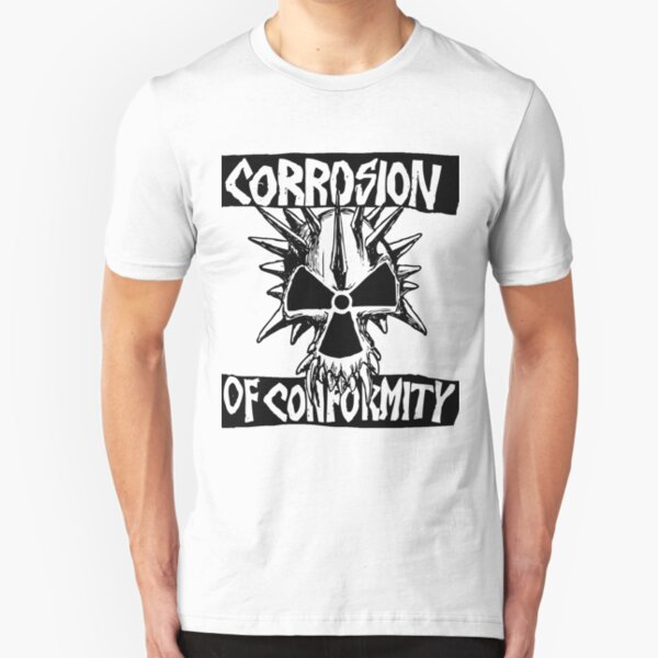 Corrosion Of Conformity Slim Fit T-Shirt