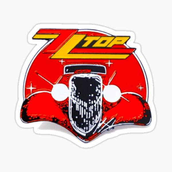 ZZ Top: Conduite. Sticker
