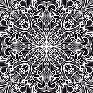 White Mandala by printmesomecolo