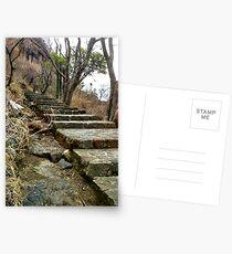 Escaleras en Malinalco  Postcards