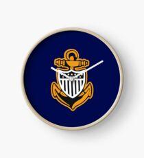 CG Chief Petty Officer Anchor II Clock