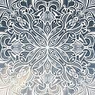 Gradient Mandala by printmesomecolo