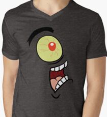 Shock, Horror, Plankton Men's V-Neck T-Shirt