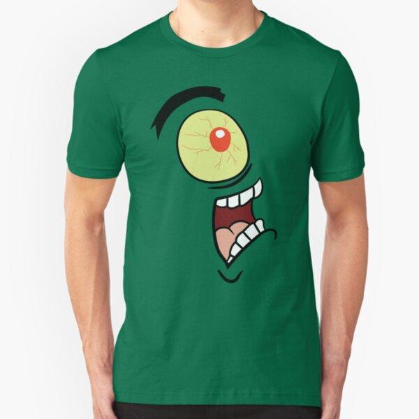 Shock, Horror, Plankton Slim Fit T-Shirt