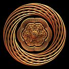 Emblem - Gold on Black by Lyle Hatch